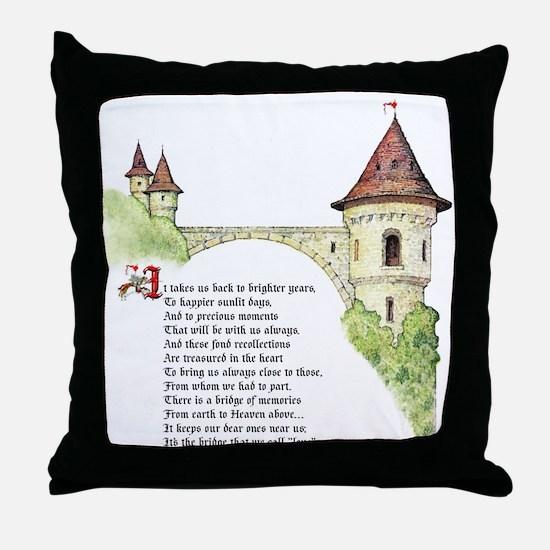 Bridge of Love Throw Pillow