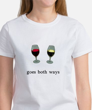Goes Both Ways Women's T-Shirt