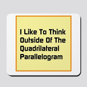 Quadrilateral Parallelogram Mousepad
