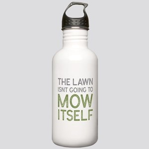 Mow The Lawn Stainless Water Bottle 1.0L