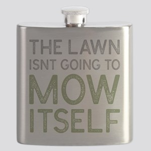 Mow The Lawn Flask