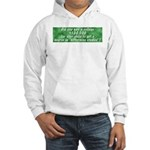 Bitterness Degree Hooded Sweatshirt