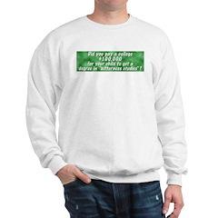 Bitterness Degree Sweatshirt