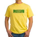 Bitterness Degree Yellow T-Shirt