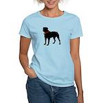 Rottweiler Silhouette Women's Light T-Shirt