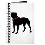 Rottweiler Silhouette Journal