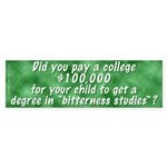 Bitterness Degree (Bumper Sticker)