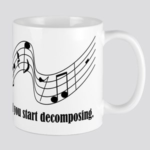 Don't Stop Composing Mugs