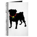 Pug Silhouette Journal
