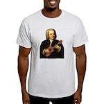 J.S. Bach on Uke Light T-Shirt