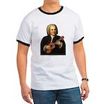 J.S. Bach on Uke Ringer T