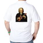 J.S. Bach on Uke Golf Shirt
