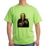 J.S. Bach on Uke Green T-Shirt