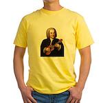 J.S. Bach on Uke Yellow T-Shirt