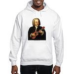 J.S. Bach on Uke Hooded Sweatshirt