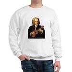 J.S. Bach on Uke Sweatshirt