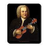 J.S. Bach on Uke Mousepad