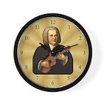 J.S. Bach on Uke Wall Clock