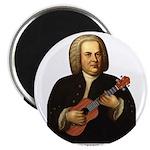 J.S. Bach on Uke Magnet