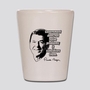Reagan Quote Government Subsidizes Problems Shot G