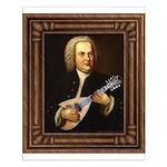 J.S. Bach on Mandolin Small Poster