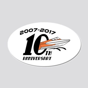 CGOAMN 10th Anniversary Simple Wall Decal
