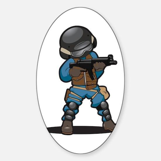 SWAT Sticker (Oval)
