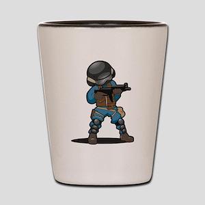 SWAT Shot Glass