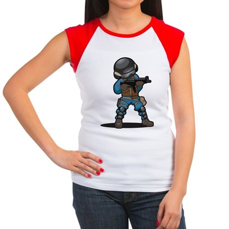 SWAT Women's Cap Sleeve T-Shirt