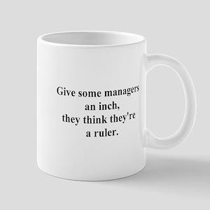 manager joke Mug