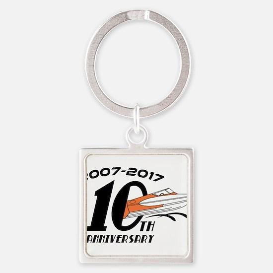 CGOAMN 10th Anniversary Simple Keychains