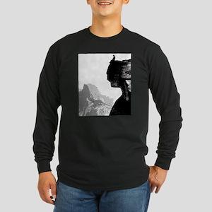 What a Spot for a rest Long Sleeve Dark T-Shirt
