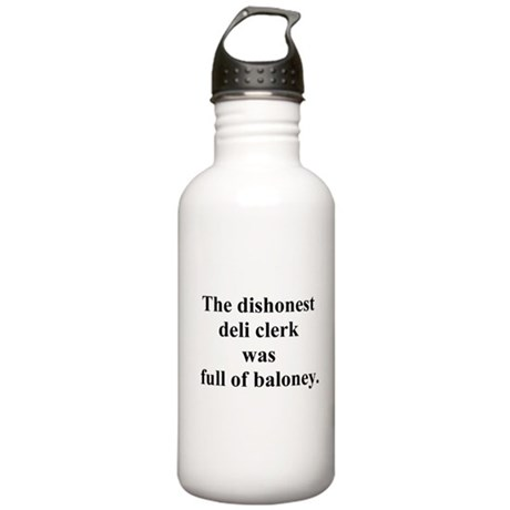 deli clerk joke Stainless Water Bottle 1.0L