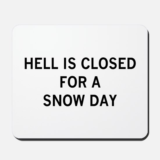 hell is closed Mousepad