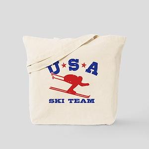 USA Ski Team Tote Bag