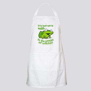 Do Not Meddle BBQ Apron