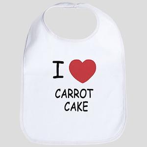I heart carrot cake Bib