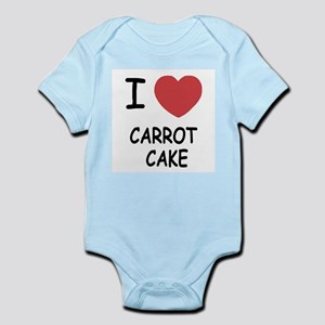 I heart carrot cake Infant Bodysuit