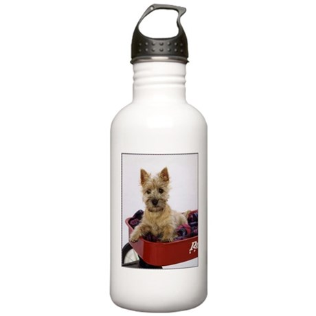 Baby Cairn Terrier Stainless Water Bottle 1.0L