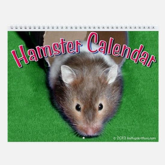 Hamster Wall Calendar
