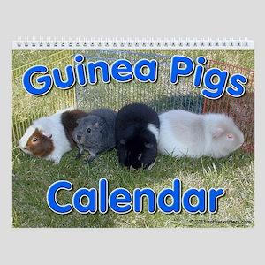 Guinea Pigs #1 Wall Calendar