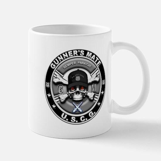 USCG Gunners Mate Skull GM Mug