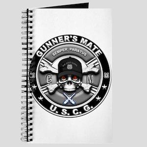 USCG Gunners Mate Skull GM Journal