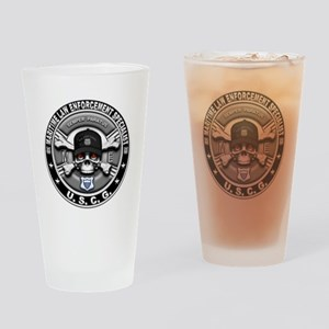 USCG Maritime Law Enforcement Drinking Glass