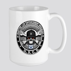 USCG Maritime Law Enforcement Large Mug