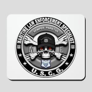 USCG Maritime Law Enforcement Mousepad