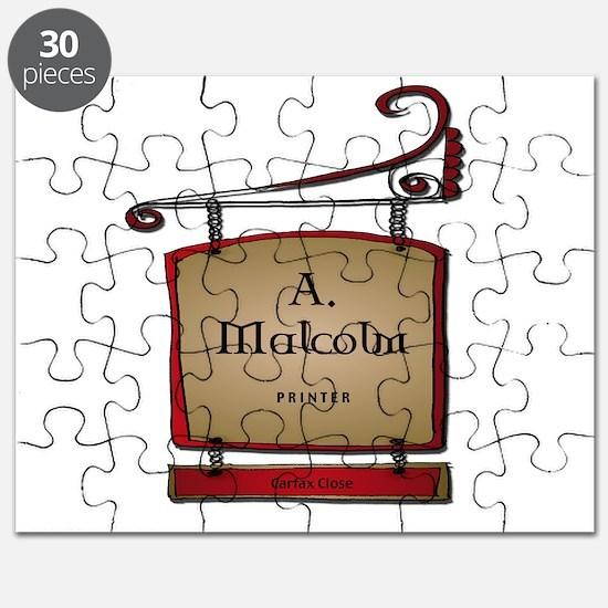 Jamie A. Malcolm Printer Puzzle