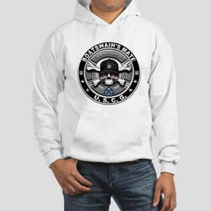 USCG Boatswains Mate Skull BM Hooded Sweatshirt