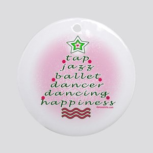 Dancers Christmas Tree by DanceShirts.com Ornament