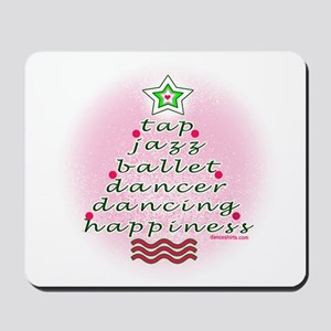 Dancers Christmas Tree by DanceShirts.com Mousepad